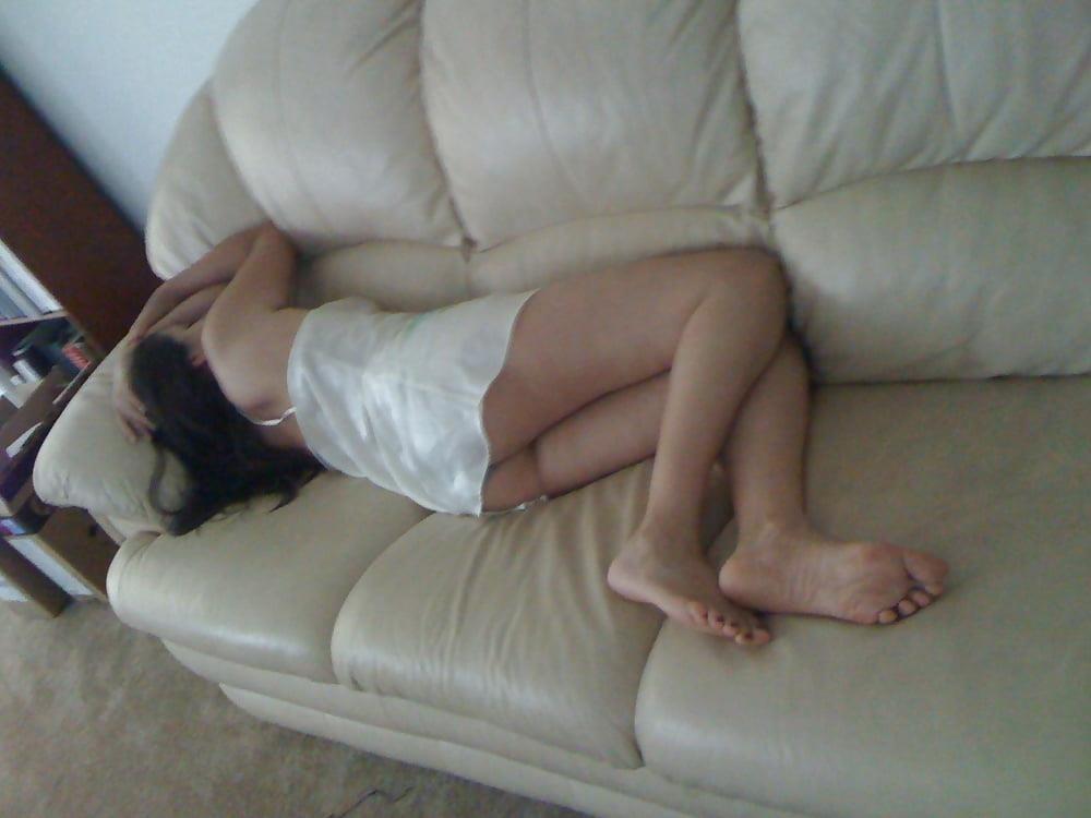 Wife asleep naked-7700