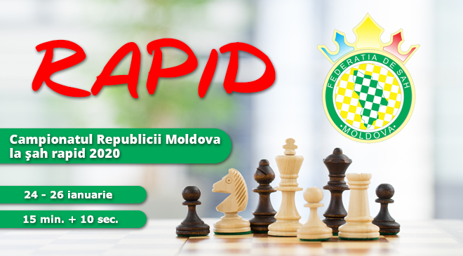 Campionatul Republicii Moldova la şah rapid 2020
