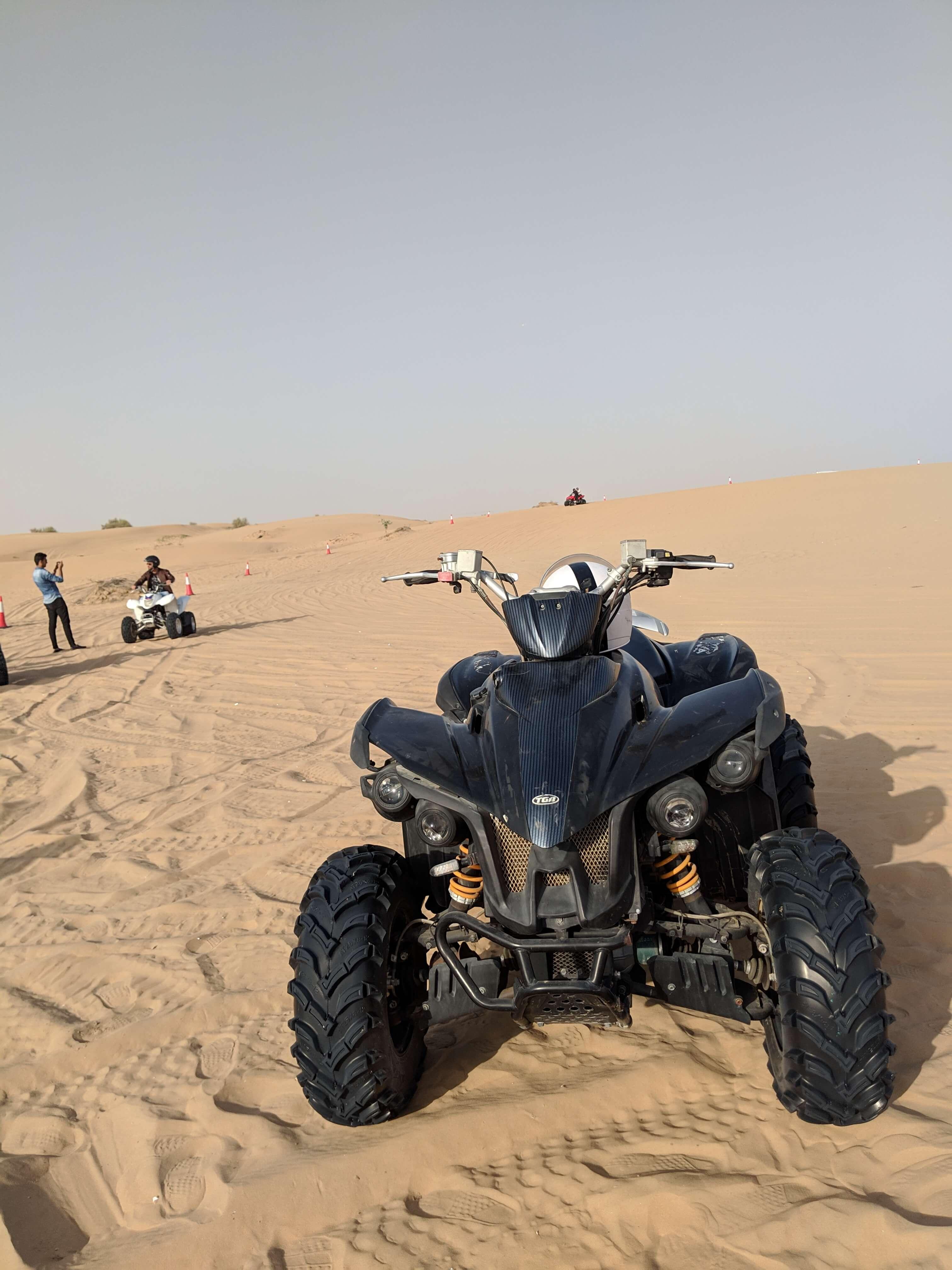 Quad biking in Dubai, UAE