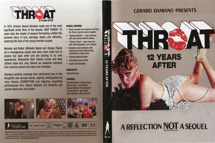 Throat 12 Years After / Throat... 12 Years After / Глотка... 12 Лет Спустя (Gerard Damiano, VCA / Vinegar Syndrome) (РУССКИЕ СУБТИТРЫ) [1984 г., Feature, Classic, All Sex, Anal, Facial, BDRip, 720p] (Michelle Maren, Sharon Kane, Sharon Mitchell, Joan
