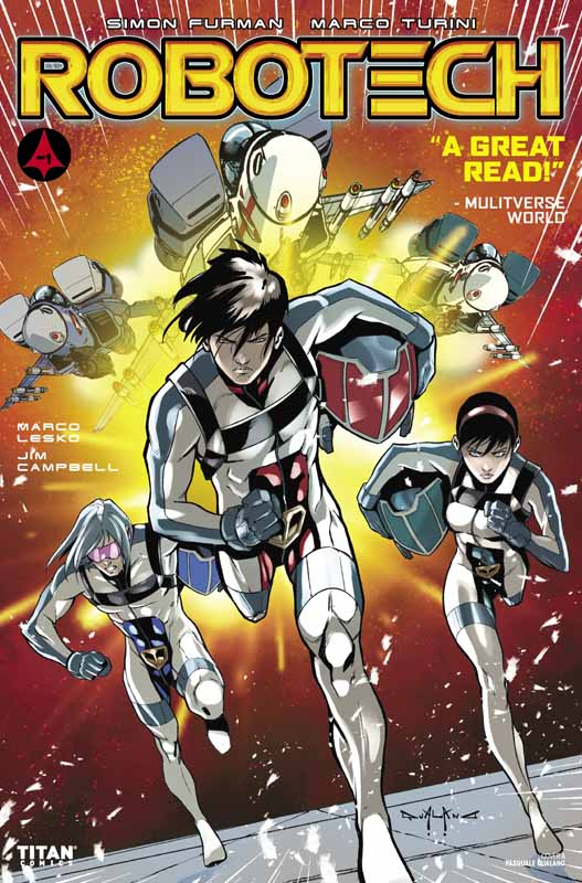 Robotech Vol.3 #1-20 (2017-2019)