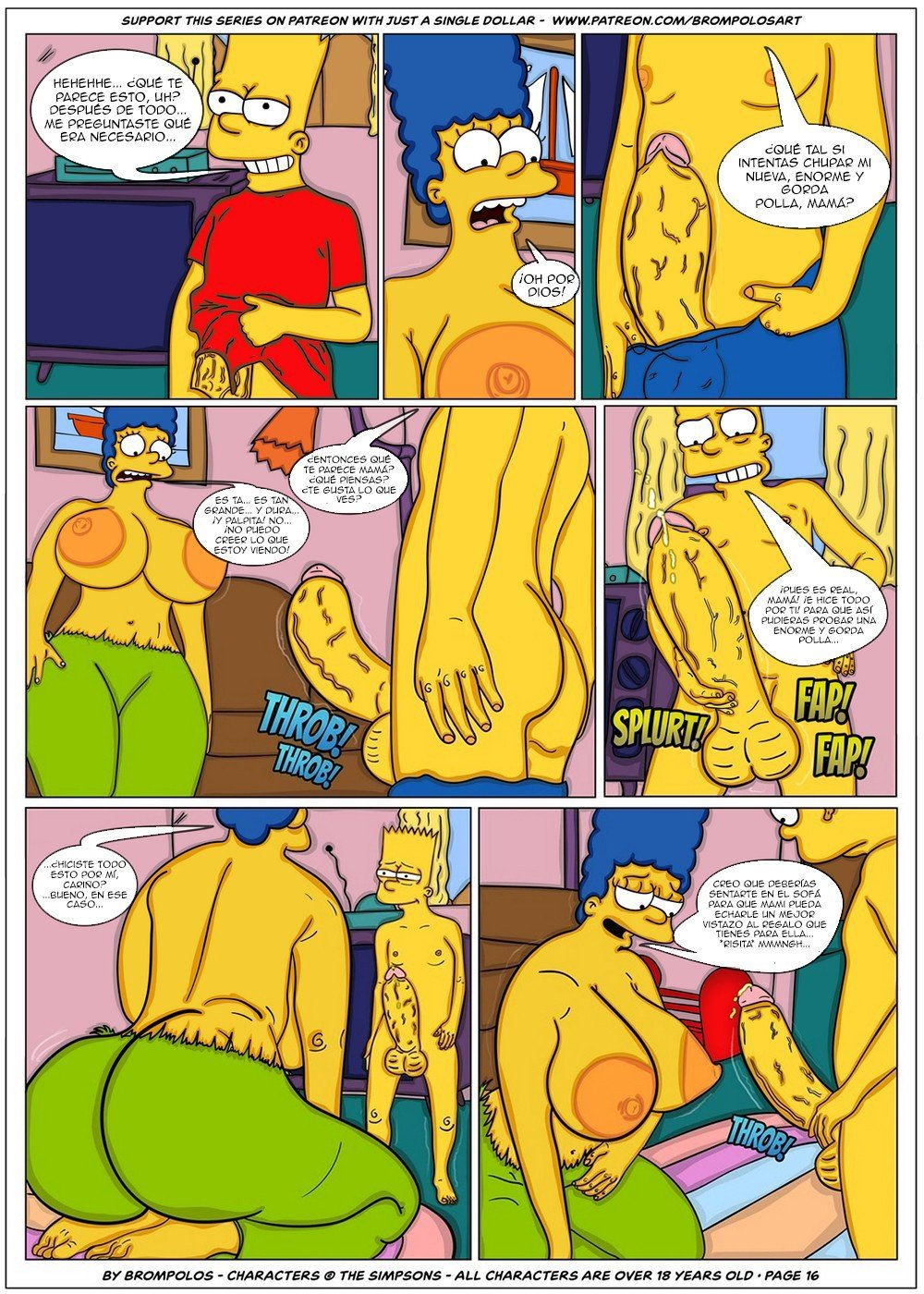 The Simpsons are The Sexenteins - 18