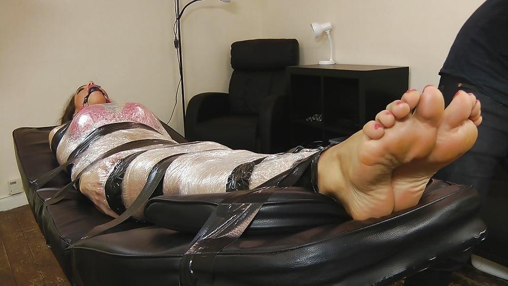 Bondage tickle feet-1555