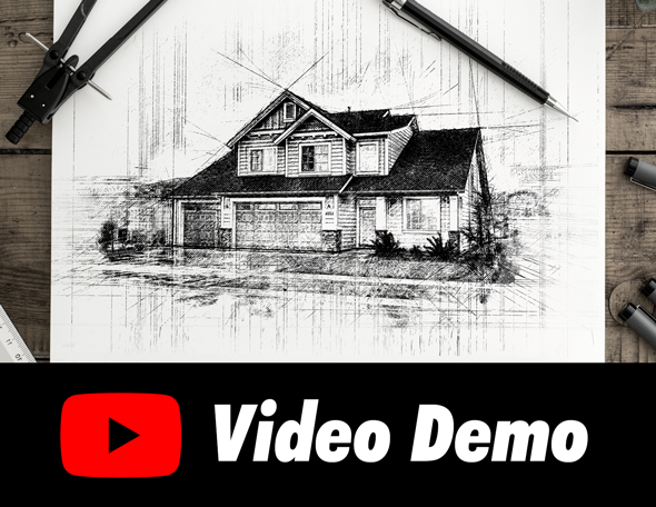 Animated Pencil Sketch FX - Photoshop Add-On - 11