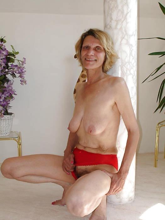 Skinny naked older women-5975