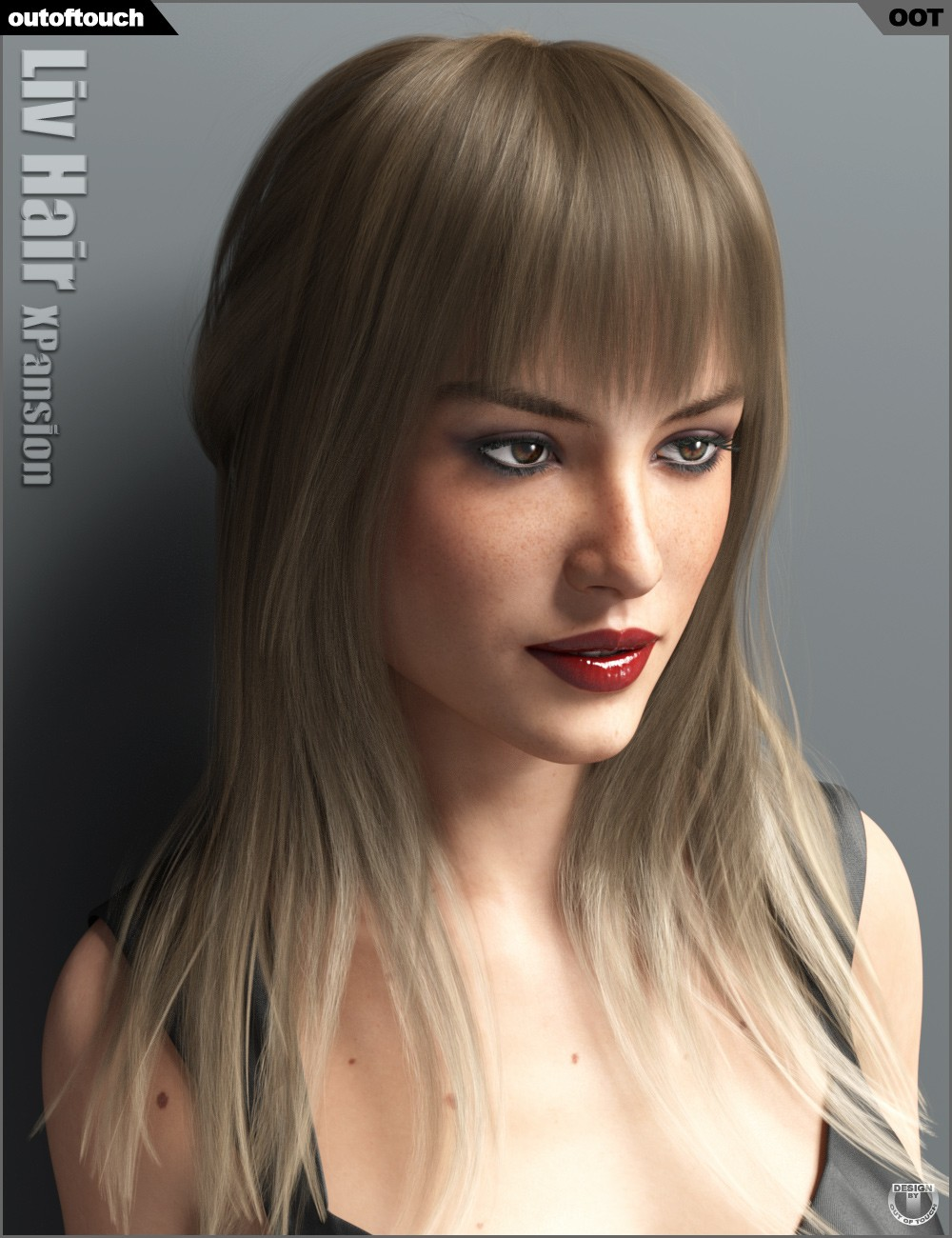 Liv Hair and OOT Hairblending 2.0 Texture XPansion