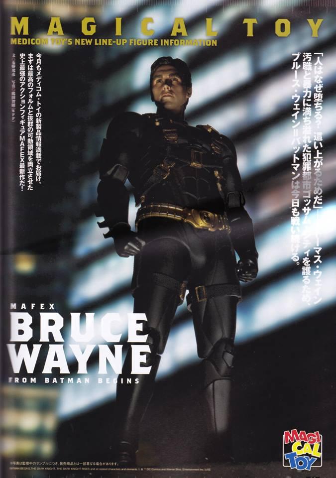 MAFEX  Batman Begins : Bruce Wayne, Ra's al Ghul - Mafex (Medicom Toys) 6DEWoJCF_o