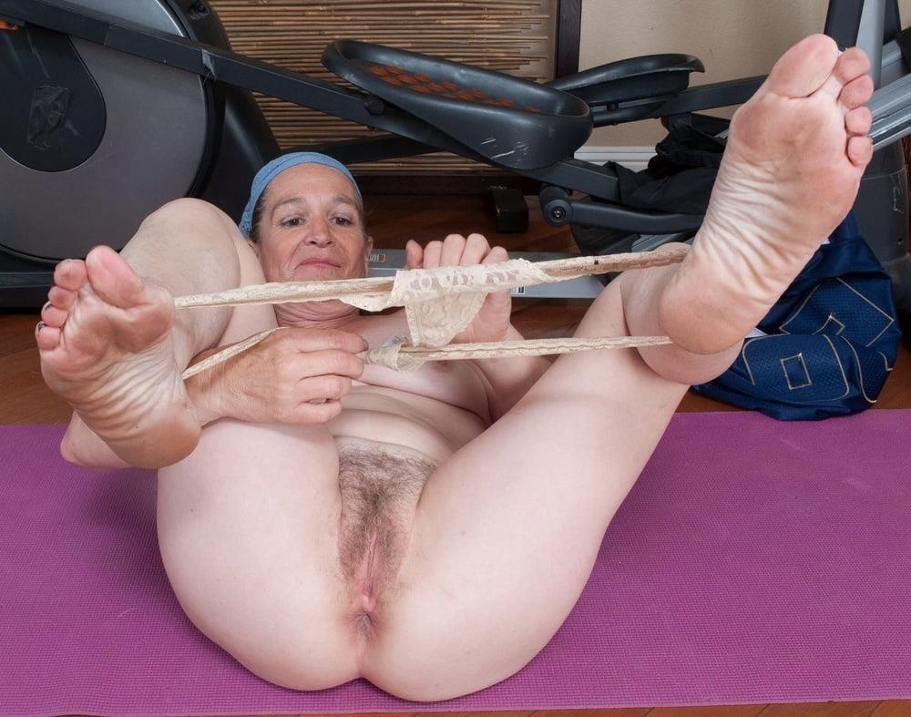 Granny foot femdom-7714