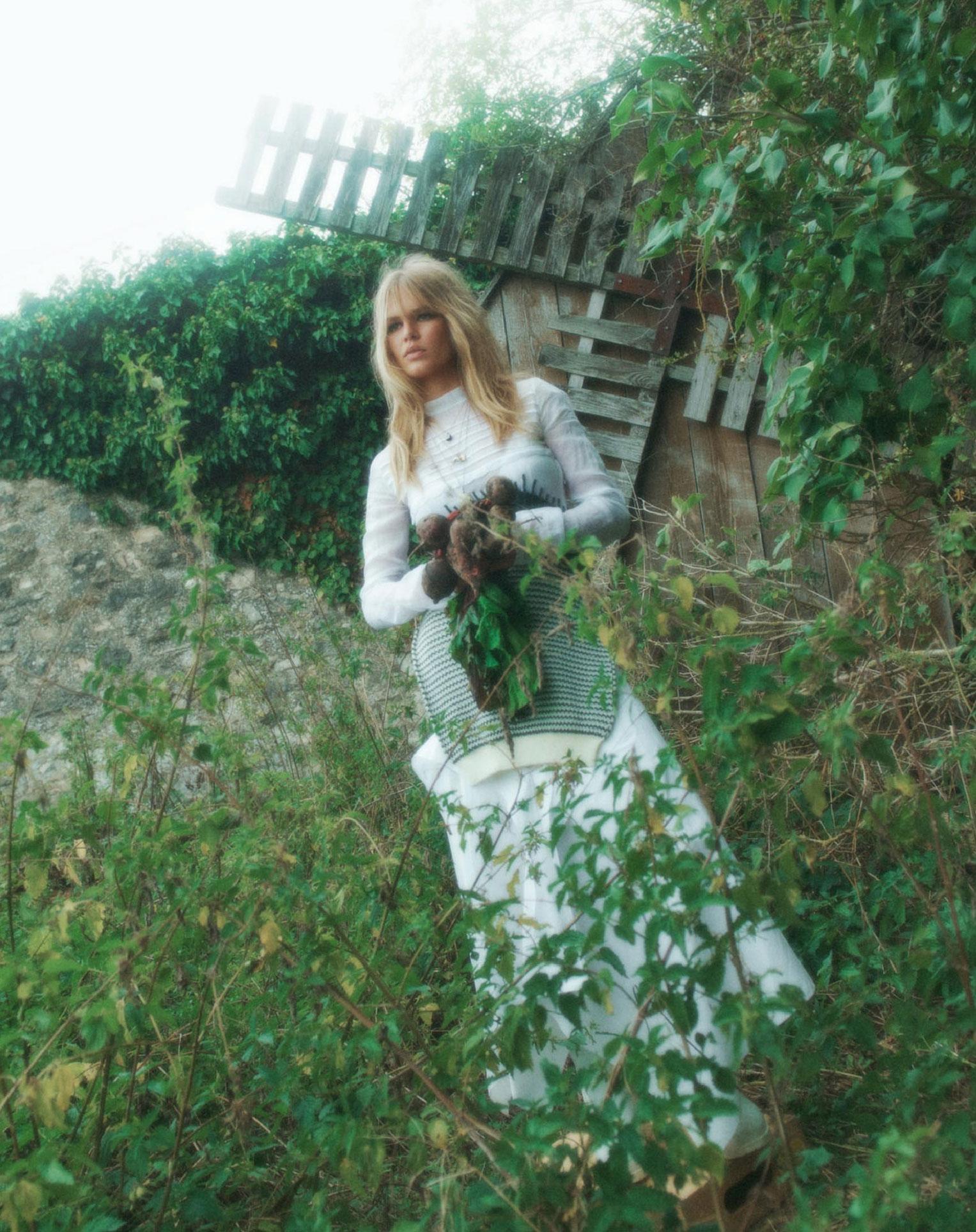 Деревенская идилия / супермодель Анна Юэрс с сыном / фото 11