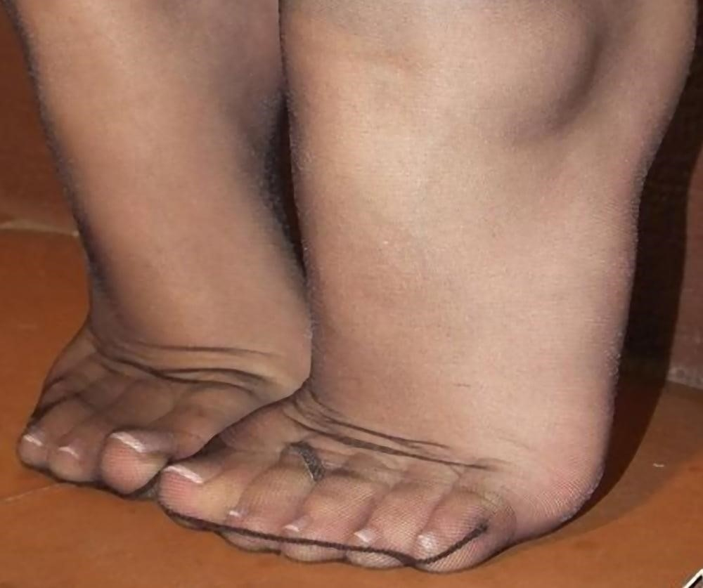 Nylon feet porn hd-5964