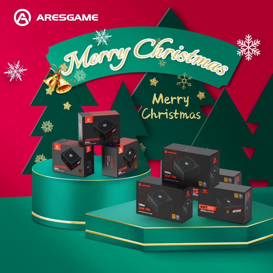 ARESGAME Presents Highly Functional and Durable PC Power Supply Units for Worldwide Gamers