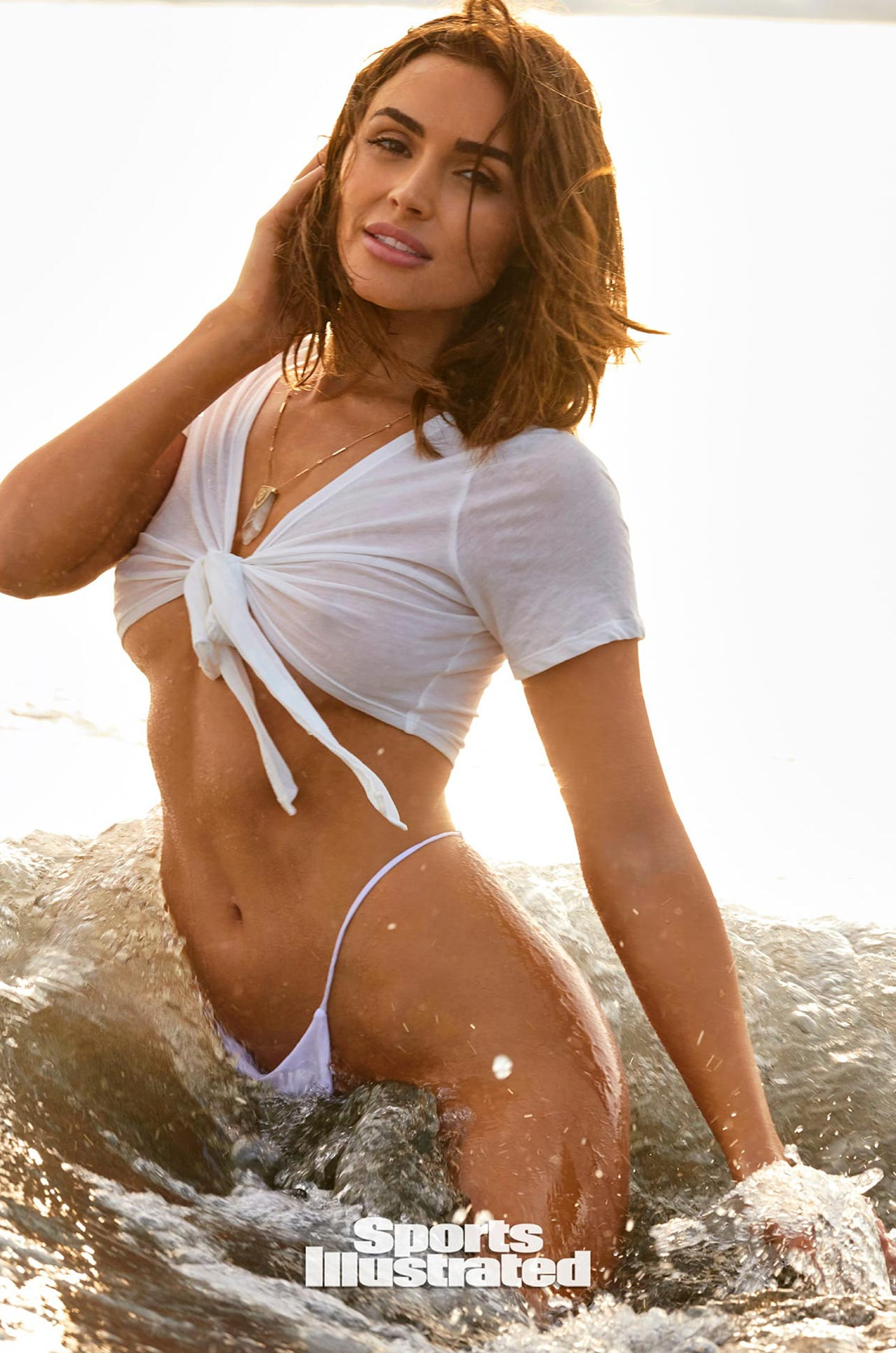 Оливия Калпо в каталоге купальников Sports Illustrated Swimsuit 2020 / фото 07