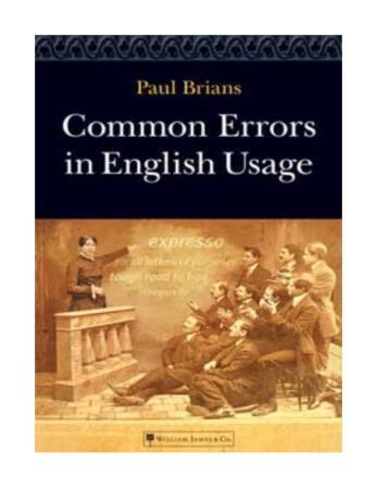 brians paul common errors in english usage