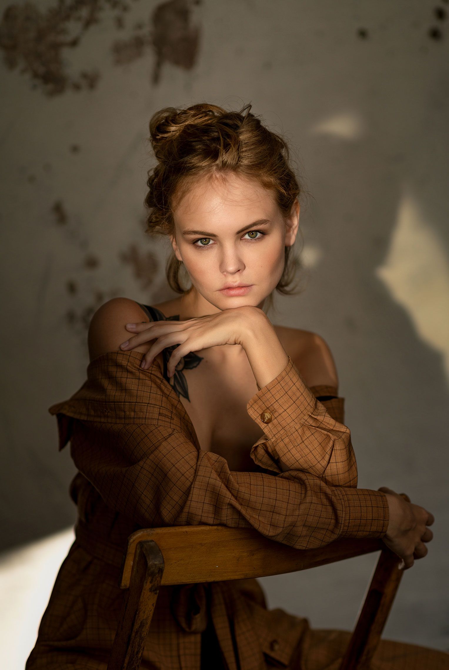 Портрет Анастасии Щегловой / Anastasiya Scheglova by Chris Bos