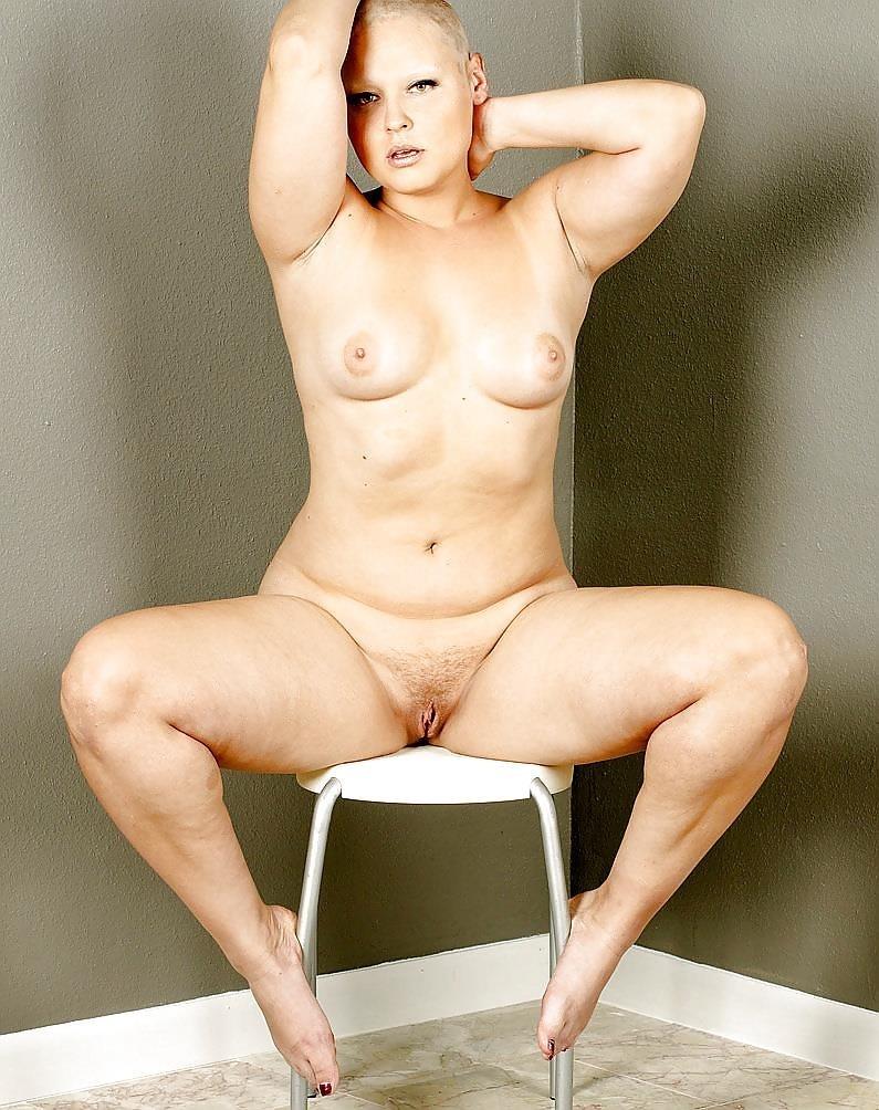 Short hair mature nude-9673
