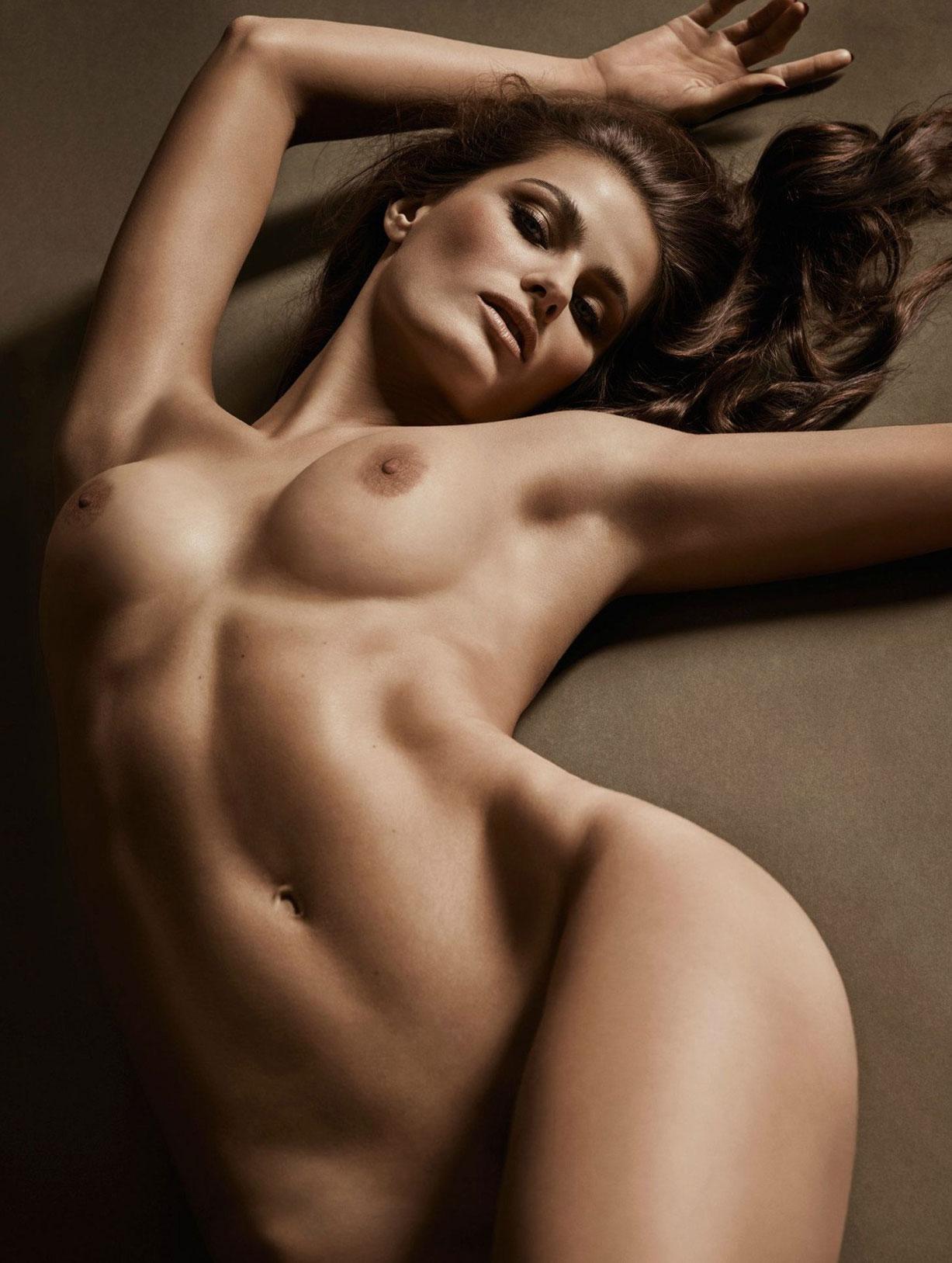 подборка фотографий сексуальных голых девушек - Isabeli Fontana
