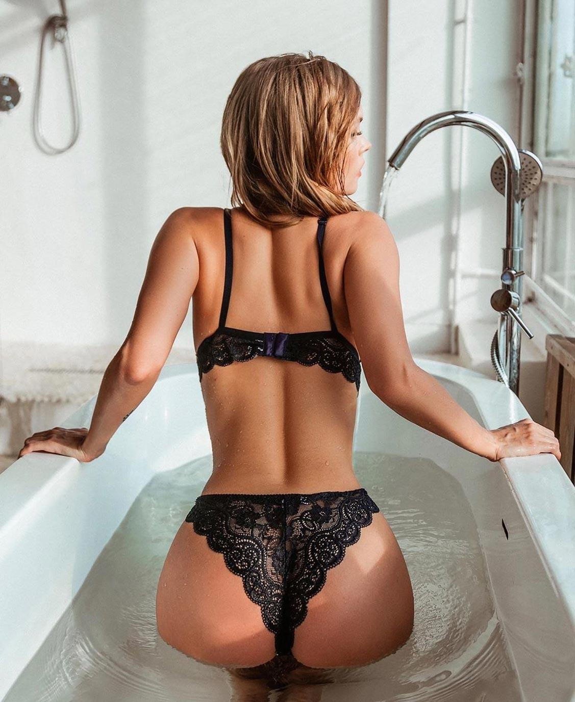 Анастасия Щеглова в нижнем белье торговой марки MissX / фото 27