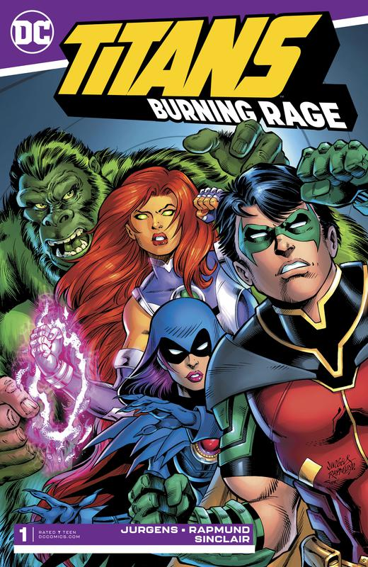 Titans - Burning Rage 001 (2019)