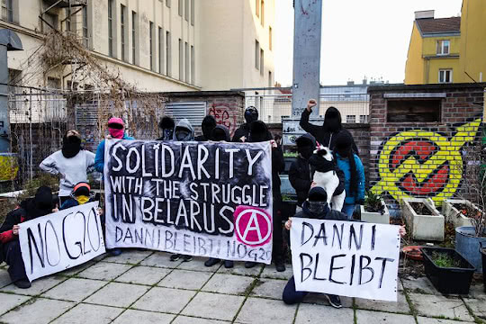 Solidarity with the Struggle in Belarus