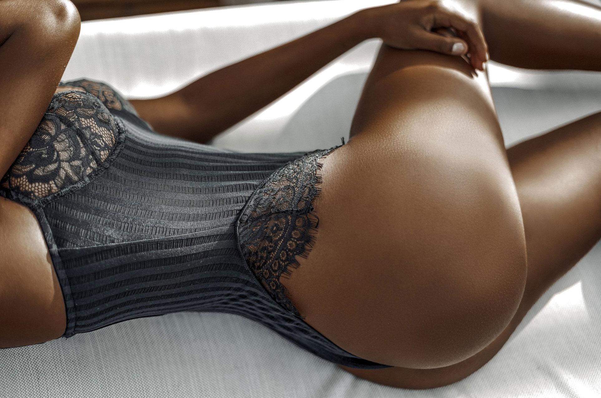 Тина Кунаки в нижнем белье Gooseberry / фото 21