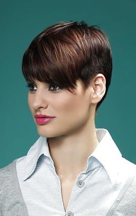 Best hair style for short hair girl-8150