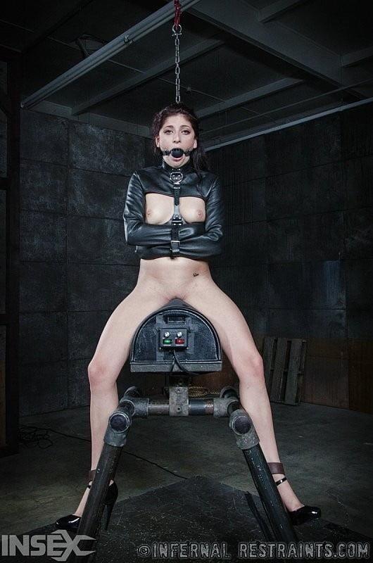 Girl straitjacket bondage-9109