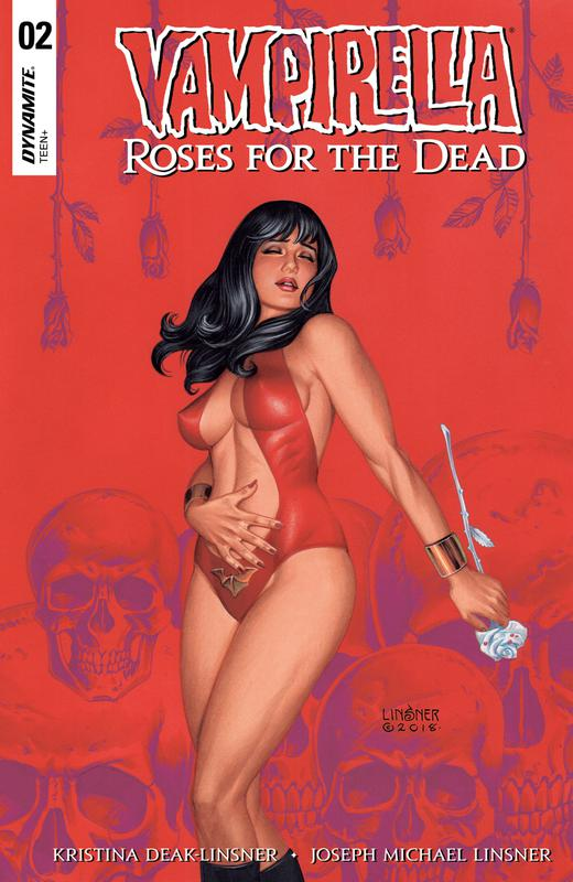 Vampirella - Roses For The Dead #1-4 (2018-2019) Complete