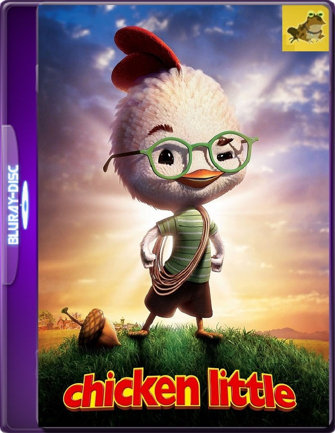 Chicken Little (2005) Brrip 1080p (60 FPS) Latino