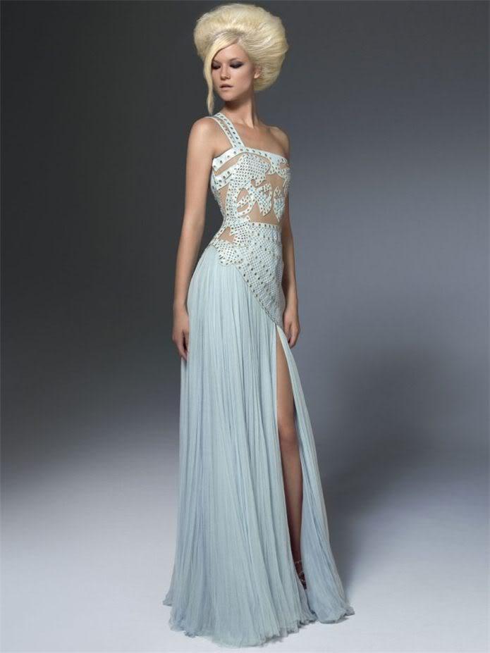 Кася Струсс / Kasia Struss - Atelier Versace fall 2011 lookbook