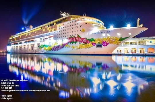 M and D Travel-Dream Vacations Cruise Ship Cover Photo