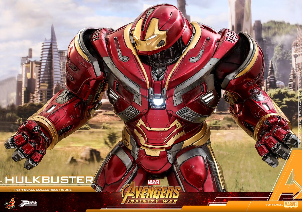 Avengers Infinity War - HulkBuster Mark 2 1/6 (Hot Toys) E5fOYa6b_o