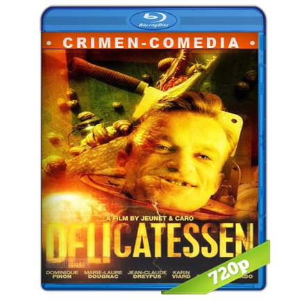 descargar Delicatessen 720p Cas-Fra[Crimen](1991) gratis