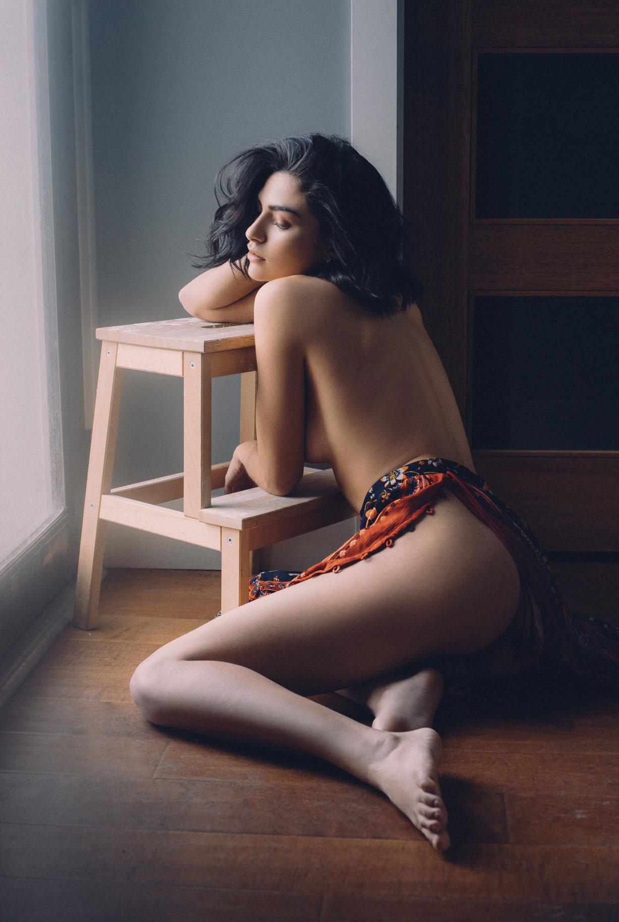Natasha Eklove naked by Ben Tsui