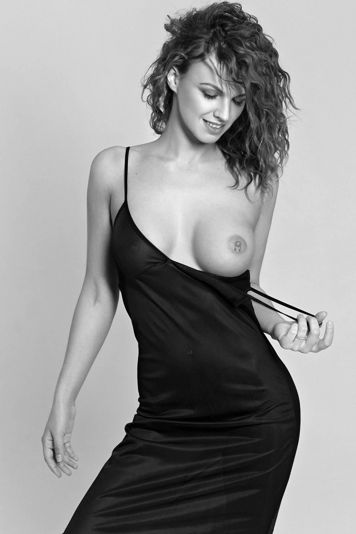 Inna Kushnir / Nessie Joy nude by Nico Pirosmani