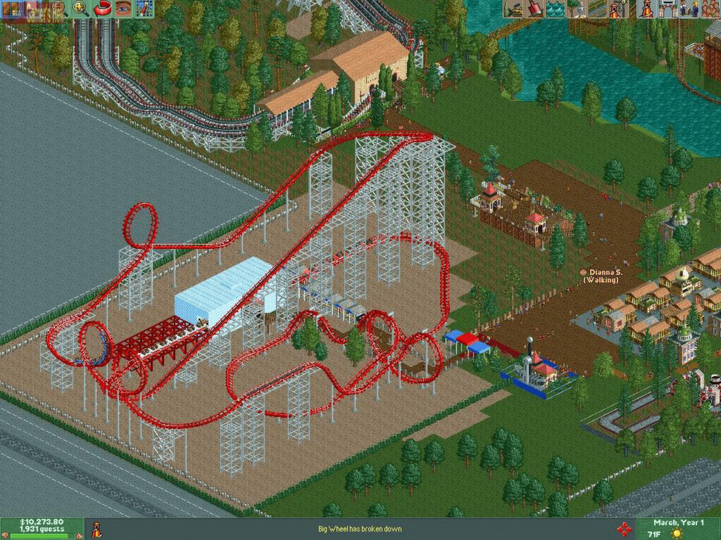 Rollercoaster Tycoon 2: Triple Thrill Pack Captura 2