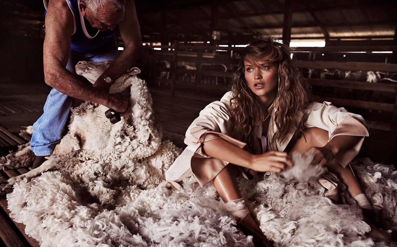 Хлои Лекару / Chloe Lecareux by Steven Chee - Grazia Australia december 2016