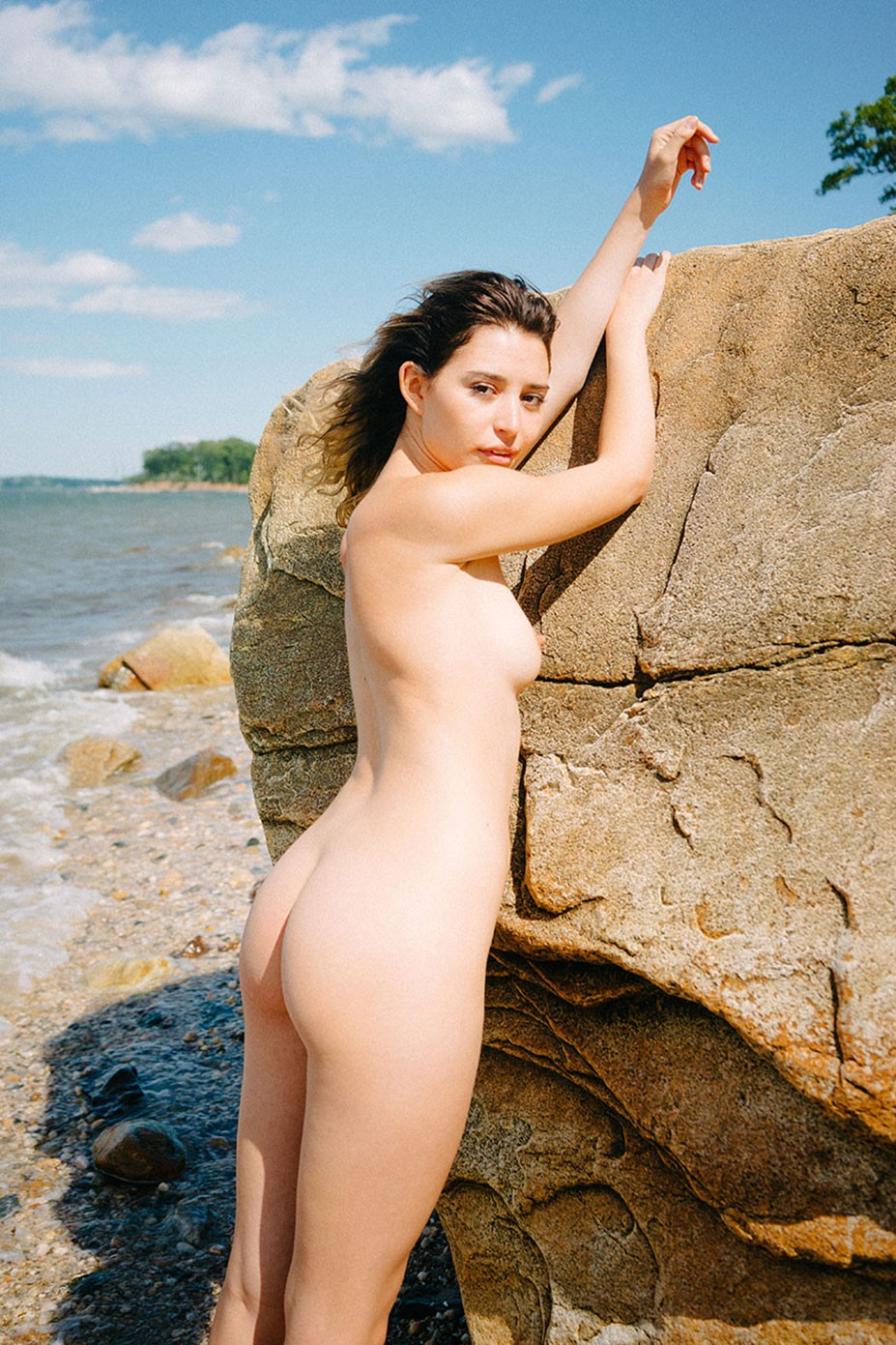 Paisley Gilbert nude by Sam Livm - Somewhere Magazine