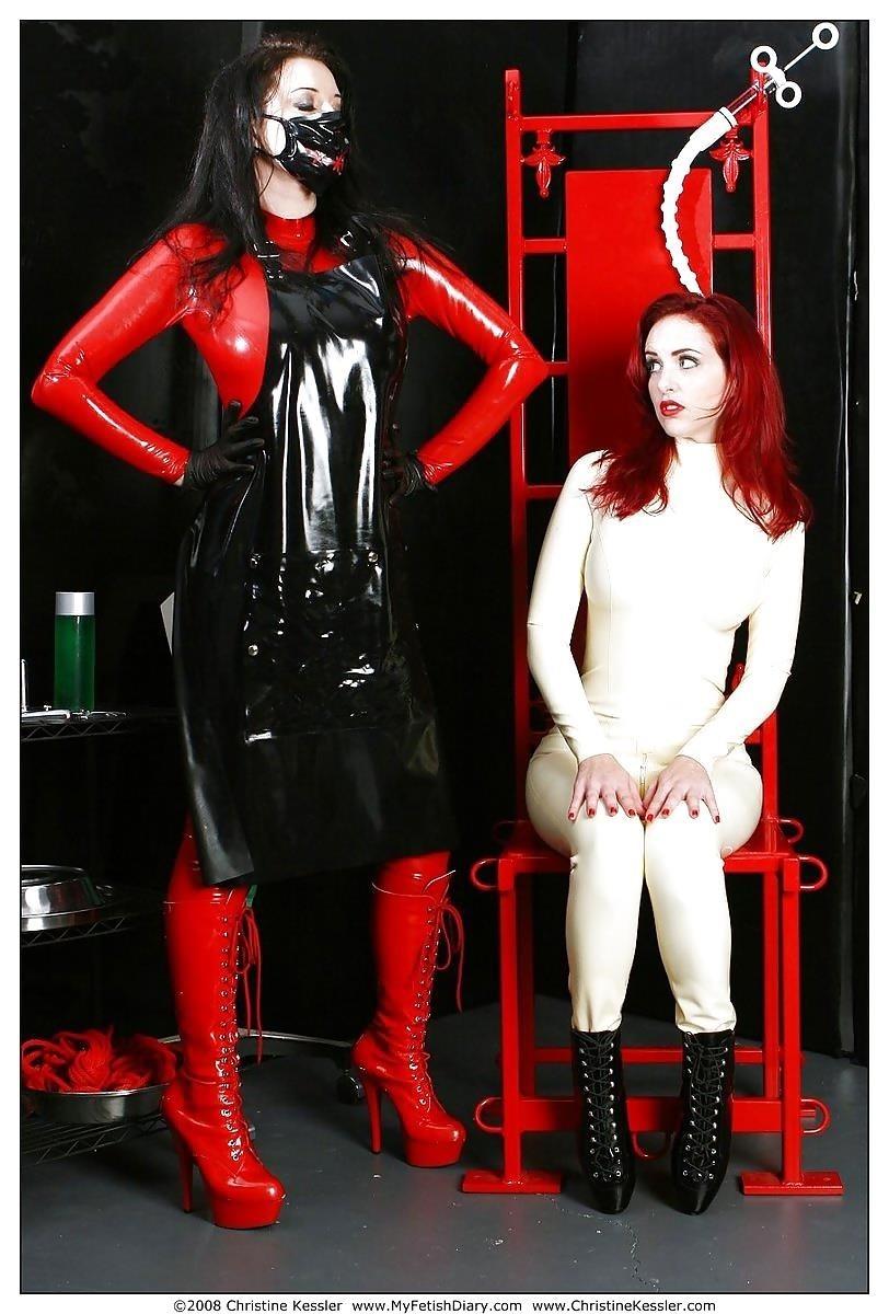 Lesbian medical bondage-3528