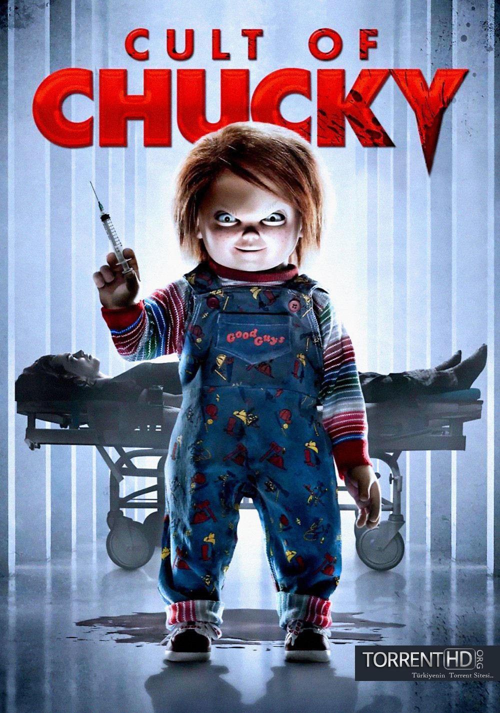 Chucky Geri Dönüyor - Cult of Chucky (2017) Türkçe Dublaj BRRip Torrent İndir