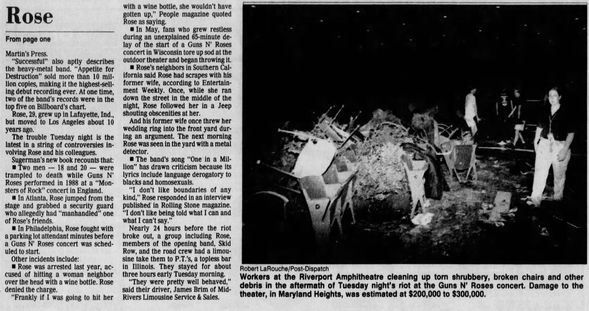 1991.07.04 - The St. Louis Post-Dispatch - Bad Vibes UeamCs1M_o