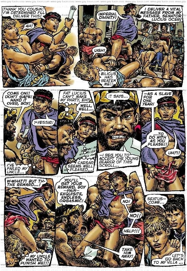Bukkake gay orgy-7588
