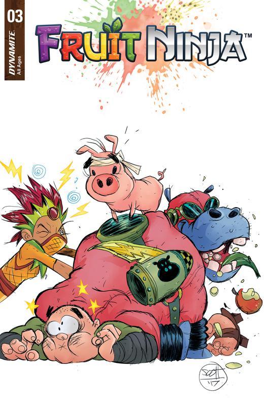 Fruit Ninja #1-3 (2017) Complete