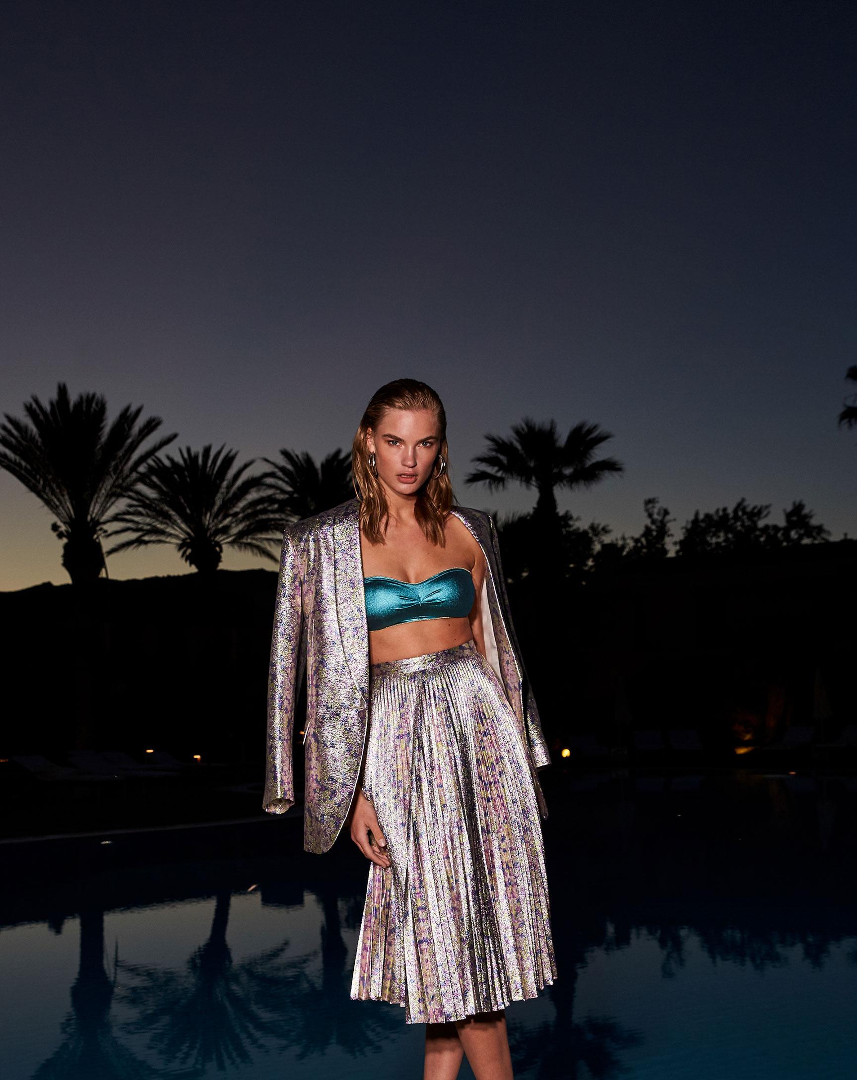 модная одежда Ermanno Scervino / Isabel Scholten by Rocio Ramos / F Italia Magazine july 2019