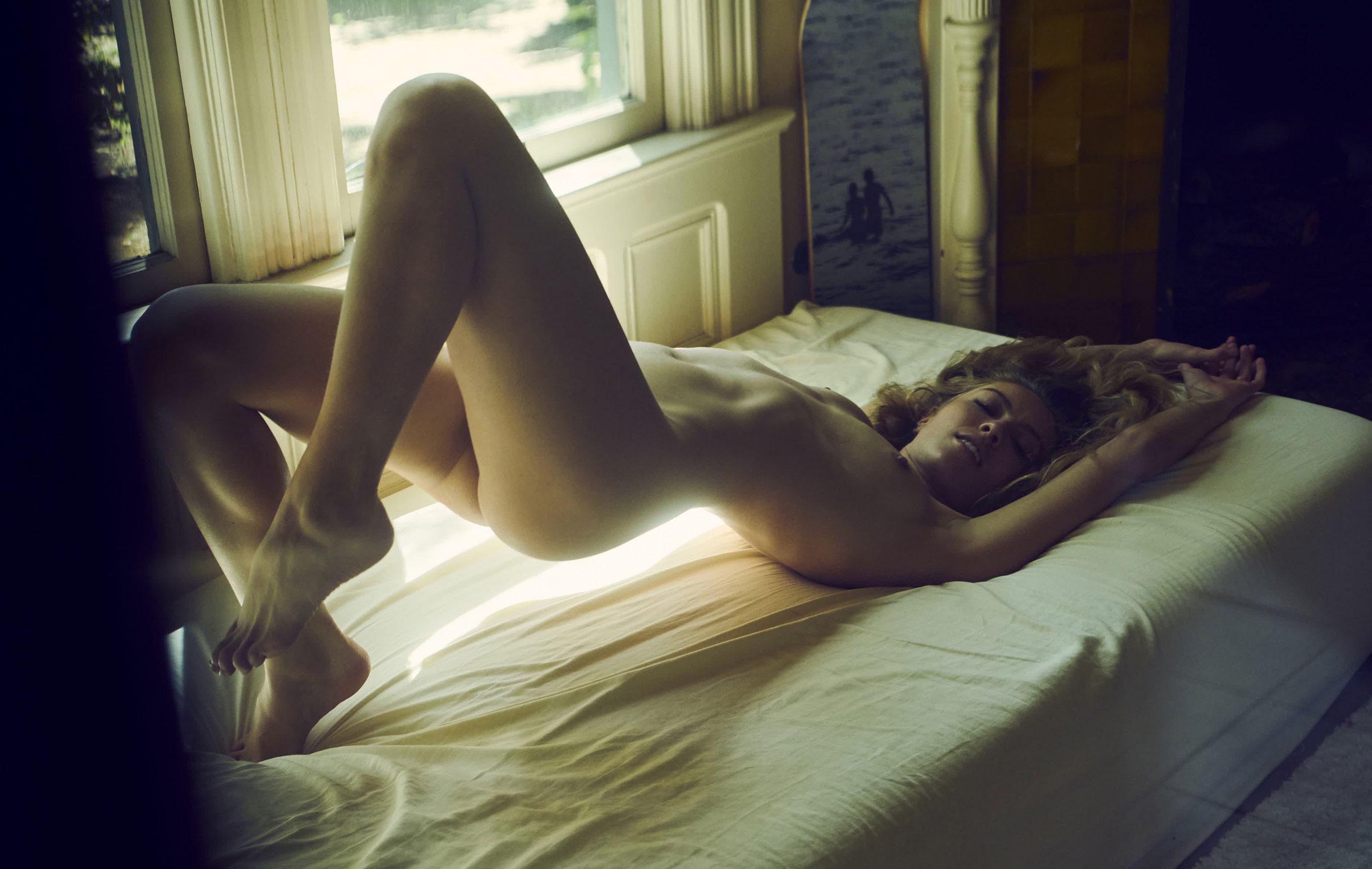 Leila Spilman nude by Stefan Rappo