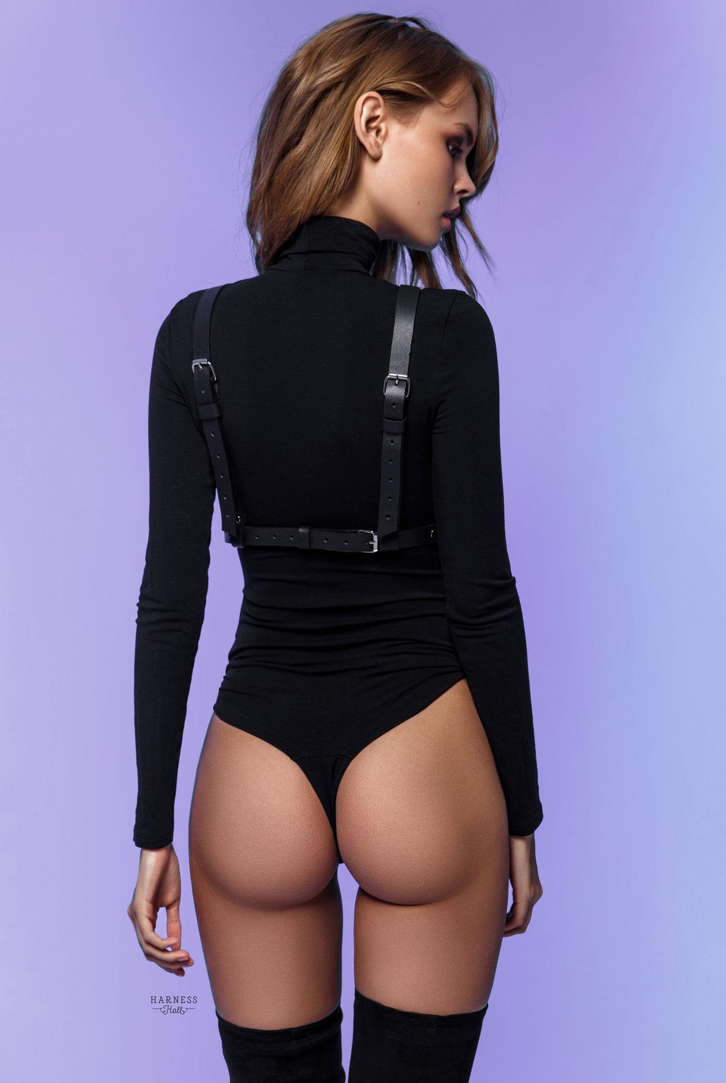 Анастасия Щеглова в нижнем белье Harness Hall, 2018 год / фото 06
