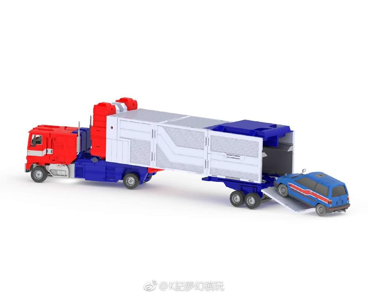 [KFC Toys] Produit Tiers - PC-14 Raijin + PC-15 Grand Raijin + P-16 Raiju - aka Ginrai (Powermaster Optimus) + Remorque de Ginrai + Godbomber = God Ginrai (TF Masterforce) CMErDu6q_o