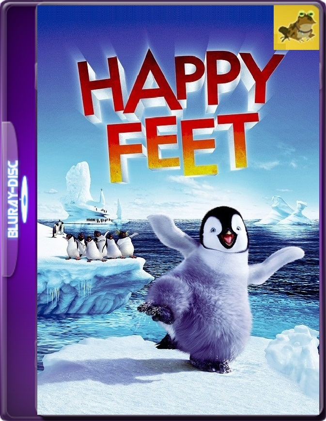 Happy Feet: El Pinguino (2006) Brrip 1080p (60 FPS) Latino