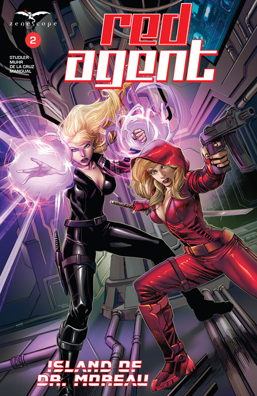 Red Agent - Island of Dr. Moreau #1-4 (2020)