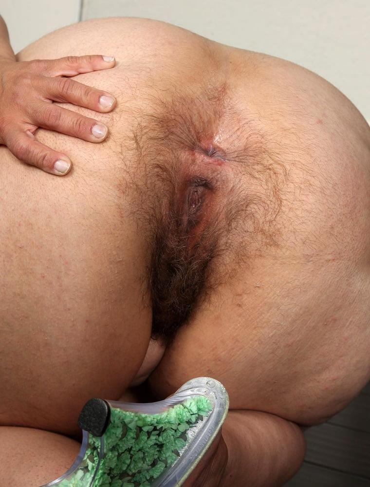 Mom hairy masturbation-3639
