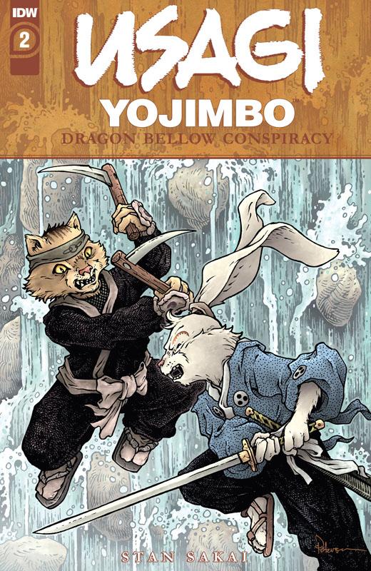 Usagi Yojimbo - The Dragon Bellow Conspiracy #1-5 (2021)